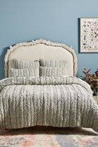 セール!Anthropologie Ruched Voile Vienna Quilt