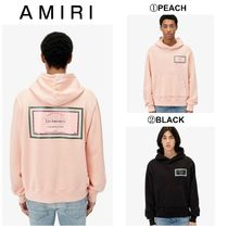 【AMIRI】☆新作☆LES AMOUREUX GEL LABEL HOODIE WEB EXCLUSIVE