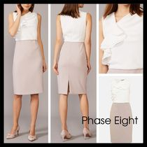【Phase Eight】英国発! Maeve Frill Fitted Dress ツートン