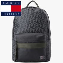 ★Tommy Hilfiger★TH LOGO MONOGRAM BACKPACK