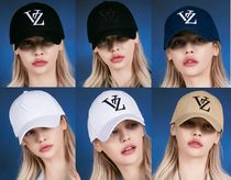 ★VARZAR★MONOGRAM BIG LOGO OVER FIT BUCKLE CAP/6カラー