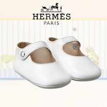 [HERMES]エルメスChaussons Pif Cheval a Basculeベビーシューズ