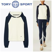 TORY SPORT(トリースポーツ) パーカー・フーディ 【TORY SPORT】 ●大人気●FRENCH TERRY COLOR-BLOCK HOODIE