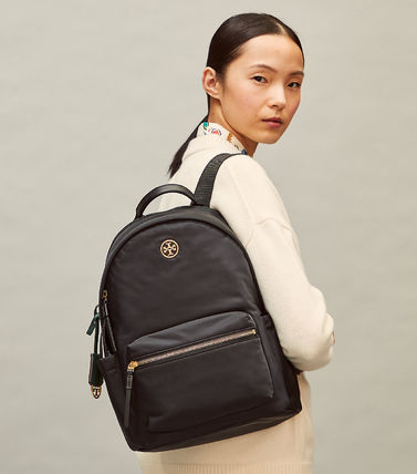 Tory Burch バックパック・リュック 即発★TORY BURCH★PIPER ZIP BACKPACK 73857(6)