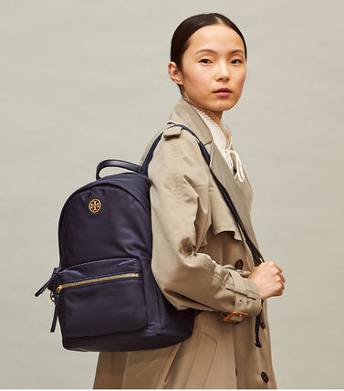 Tory Burch バックパック・リュック 即発★TORY BURCH★PIPER ZIP BACKPACK 73857(11)