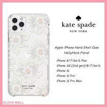 【kate spade】iPhone Case HollyHock Floral♪対応機種豊富♪