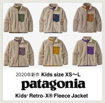 2020年新作☆Patagonia Kids Retro-X Fleece Jacket (120-160cm)