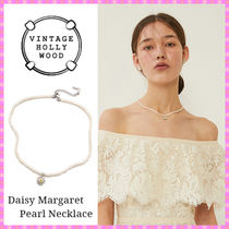 【VINTAGE HOLLYWOOD】Daisy Margaret Pearl Necklace