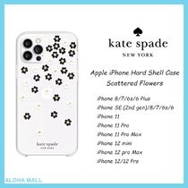 【kate spade】iPhone Case Scattered Flowers♪対応機種豊富♪