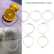 Vintage hollywood★Candy Beads Necklace_7color