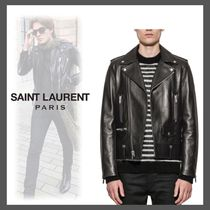 【VIPSALE】Saint Laurent Paris MOTORCYCLE レザージャケット