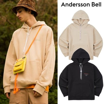 ANDERSSON BELL★UNISEX RUNNING EMBROIDERY ANDERSSON HOODIE