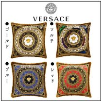 【VERSACE HOME】新作 アイラブ バロック シルク クッション