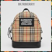 BURBERRY☆NicoCheck Backpackヴィンテージチェックバックパック