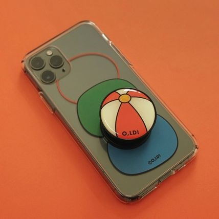 ★oh lolly day★ 3 Pebbles iPhone クリアケース