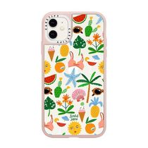 Casetify iphone Grip case♪TROPICAL VIBES BY bodil-jane♪