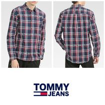 【TOMMY JEANS】ロゴシャツ 要在庫確認