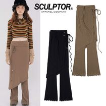 日本未入荷★SCULPTOR★ Wrap Skirt W/Leggings 2色