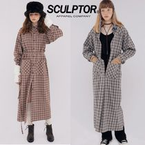 日本未入荷★SCULPTOR★Check Western Shirt Dress 2色