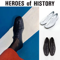 [HEROES of HISTORY] Round Toe Lace-up Flat ローパー