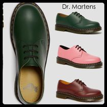 【Dr Martens】1461 スムース レザーシューズ 緑 ピンク 茶色