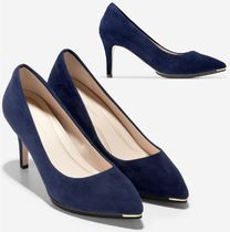 COLE HAAN Grand Ambition Pump 75mm マリンブルースエード