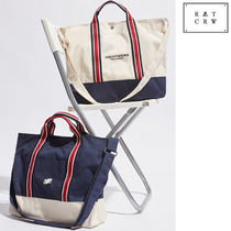 ROMANTIC CROWN★ RMTCRW STRIPE TOTE BAG 2色