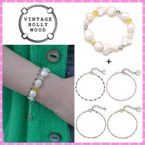 【VINTAGE HOLLYWOOD】Smile n Dot Seed Bracelet〜2個セット
