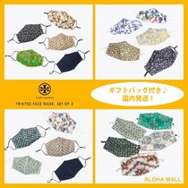 【Tory Burch】PRINTED FACE MASK, SET OF 5♪お洒落なマスク♪