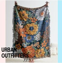 Urban Outfitters◇ 花柄 リバーシブルブランケット
