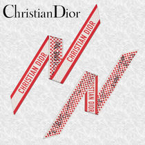 """NEW【DIOR】""""I love you"""" DIORAMOUR ミッツァスカーフ シルク"""