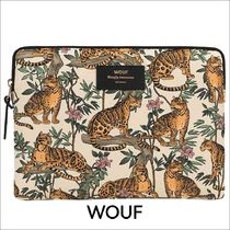 【WOUF】 iPadケース WOUF LAZY JUNGLE IPAD SLEEVE