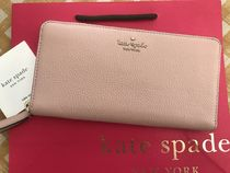 Kate Spade★Jackson Large Continental Wallet★綺麗なピンク色