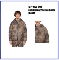 [1017 ALYX 9SM] CAMOUFLAGE TECHNO DOWN JACKET (送料関税込み)