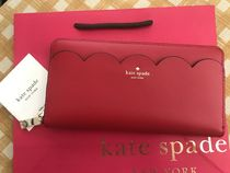 即発★Kate Spade★Cameron Large Continental Wallet★赤色