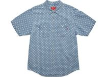即発!在庫処分!Polka Dot Denim Shirt