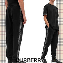 ★BURBERRY★TUCKFORD TAPED TRACK PANT ラインロゴがかっこいい