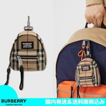 【20AW/SALE】BURBERRY チェック バックパックチャーム