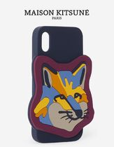 ★MAISON KITSUNEメゾンキツネ★ IPHONE CASE NEON FOX HEAD XXL