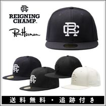 【RH取扱】Reigning Champ◆NEW ERA 59FIFTY モノグラムキャップ