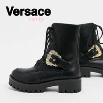 【Versace】レースアップブーツ 送料・関税込み