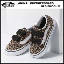 9-16㎝!! ☆Vans☆ ANIMAL CHECKERBOARD OLD SKOOL V