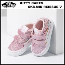 9-16㎝!! ☆Vans☆ TODDLER KITTY CAKES SK8-MID REISSUE V