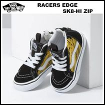 9-16㎝!! ☆Vans☆ TODDLER RACERS EDGE SK8-HI ZIP