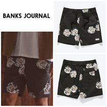 【BANKS JOURNAL】☆水着☆新作☆SUNFLOWERS ELASTIC BOARDSHORT