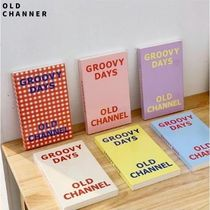 OLD CHANNEL◆日付書込みタイプ PVCカバー付 GROOVY DAYS DIARY