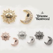 日本完売☆Vivienne Westwood☆SUN AND MOONピアス