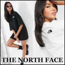 【THE NORTH FACE】ロゴ Tシャツワンピース★送料込★