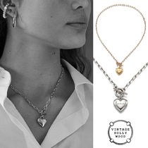 VINTAGE HOLLYWOOD★Love Lock Heart Necklace ネックレス