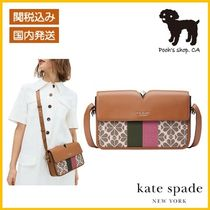 【Kate Spade】spade flower jacquard shoulder bag◆国内発送◆